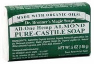 Dr. Bronners Soaps Organic Pure Castile Bar Soap