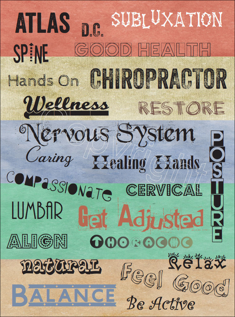 Chiropractic Words