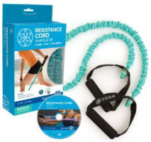 Gaiam Covered Resistance Cord Kit